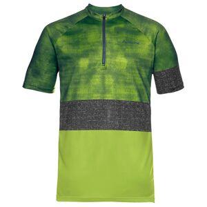 VAUDE Ligure Bike Shirt Bikeshirt, for men, size S, Cycling jersey, Cycling clot  - green/blue