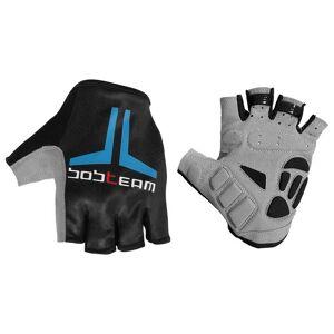 Bobteam Cycling gloves, BOBTEAM Evolution 2.0 black-blue Cycling Gloves, for men, size S