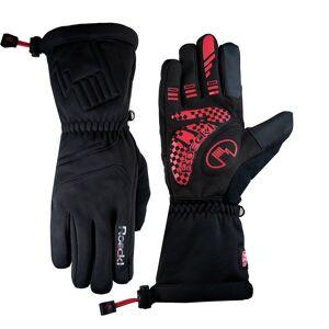 ROECKL Riken black Winter Cycling Gloves, for men, size 6,5, MTB gloves, Bike cl
