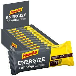 POWERBAR Energize Original Bars Cookies & Cream, 25 units/box Bar, Sports food