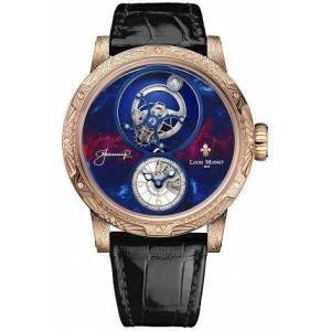 Louis Moinet Watch Spacewalker Rose Gold Hand Engraved Limited Edition