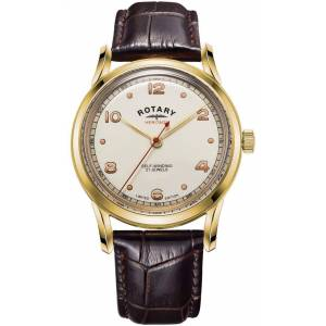 Rotary Watch Heritage Gold PVD Limited Edition