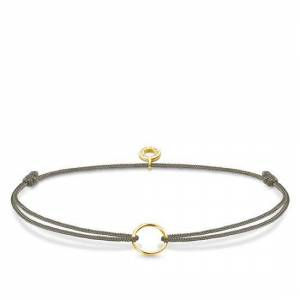 Thomas Sabo Little Secrets Yellow Gold Grey Charm Bracelet