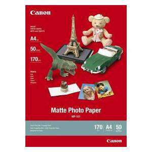 Canon MP-101 A4 Matte Photo Paper 170gsm 50 sheets