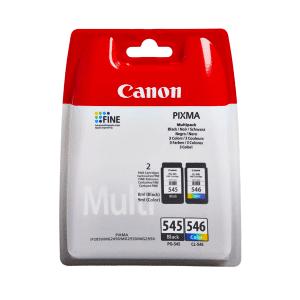 Canon PG-545 / CL-546 (8287B005) Original Black & Colour Ink Cartridge 2 Pack