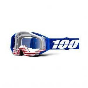 100% 100% Racecraft Goggles Anthem Clear Lens