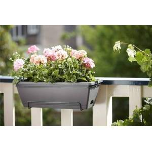 Elho Barcelona Allin1 50cm Balcony Pot - Mint