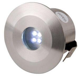 KnightsBridge IP44 Stainless Steel LED Decking Kit - 4 Pack - White
