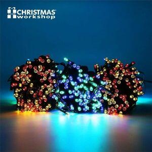 Benross Multi Coloured Ultra Bright LED String Chaser Lights - 400 LED