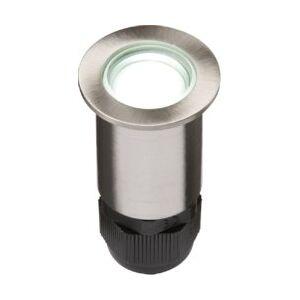 KnightsBridge Small Stainless Steel LED Ground Light - White