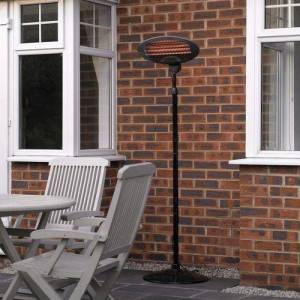 Limitless Freestanding Electric Patio Heater