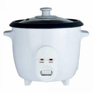 Status 1.8 Litre Round Rice Cooker - White