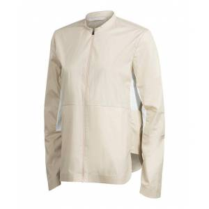 FALKE Women Jacket/Vest, XS, Beige, Cotton  - Beige - Size: Extra Small