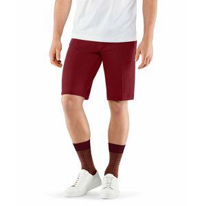 FALKE Men Shorts, M, Red, Block colour, Cotton  - Red - Size: Medium