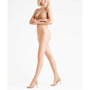 FALKE Natural Glow 6 DEN Women Tights, M-L, Beige, Block colour