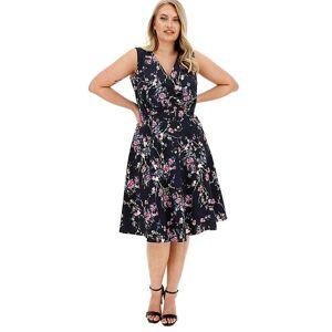 Joe Browns Ultimate Prom Dress  - BLACK PRINT - Size: 16