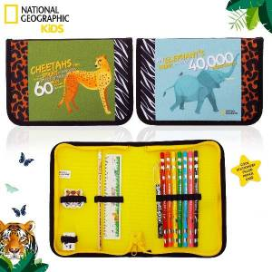 National Geographic Filled pencil case