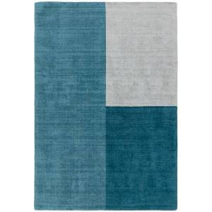 Asiatic Carpets Blox Hand Woven Rug Teal - 200 x 300cm