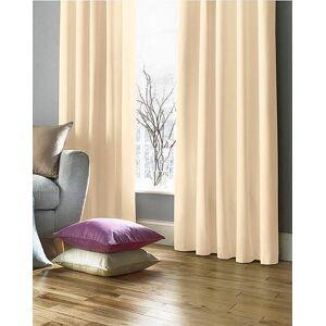 JD Williams Plain-Dye Sateen Lined Pencil Curtains
