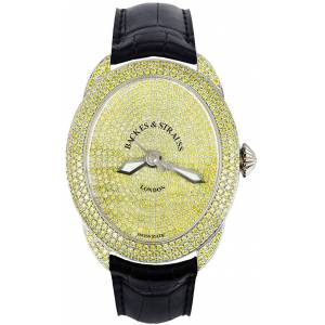 Backes & Strauss Watch Regent Fancy Canary 4047 Limited Edition