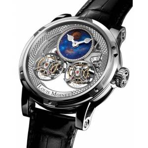 Louis Moinet Watch Sideralis Evo White Gold Limited Edition