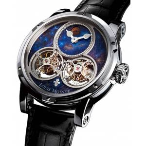 Louis Moinet Watch Sideralis White Gold Limited Edition