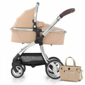 egg® Special Edition 2in1 Pram System With Changing Bag & Seat Liner-Honeycomb