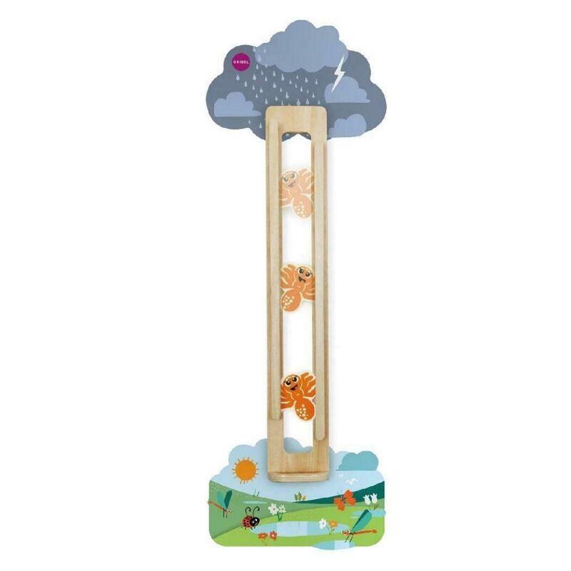Oribel VertilPlay Wooden Wall Toys-Slidey Spidey