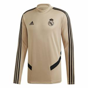 Adidas Real Madrid LS Training Top - Gold