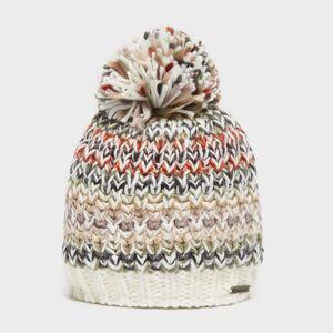 Trekmates Women's Rebecca Knit Hat - Multi-Coloured/Cream, Multi-coloured/Cream One Size