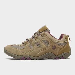Hi Tec Women's Quadra Classic Walking Shoes - Brown/Tp/Pu, BROWN/TP/PU 6