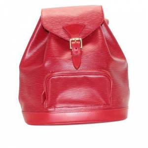 Louis Vuitton Montsouris Backpack, Red