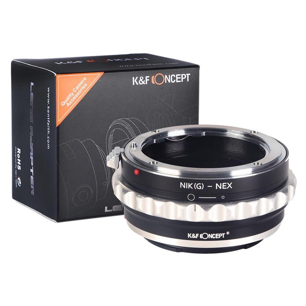 K&F Nikon G Lenses to Sony E Mount Camera Adapter