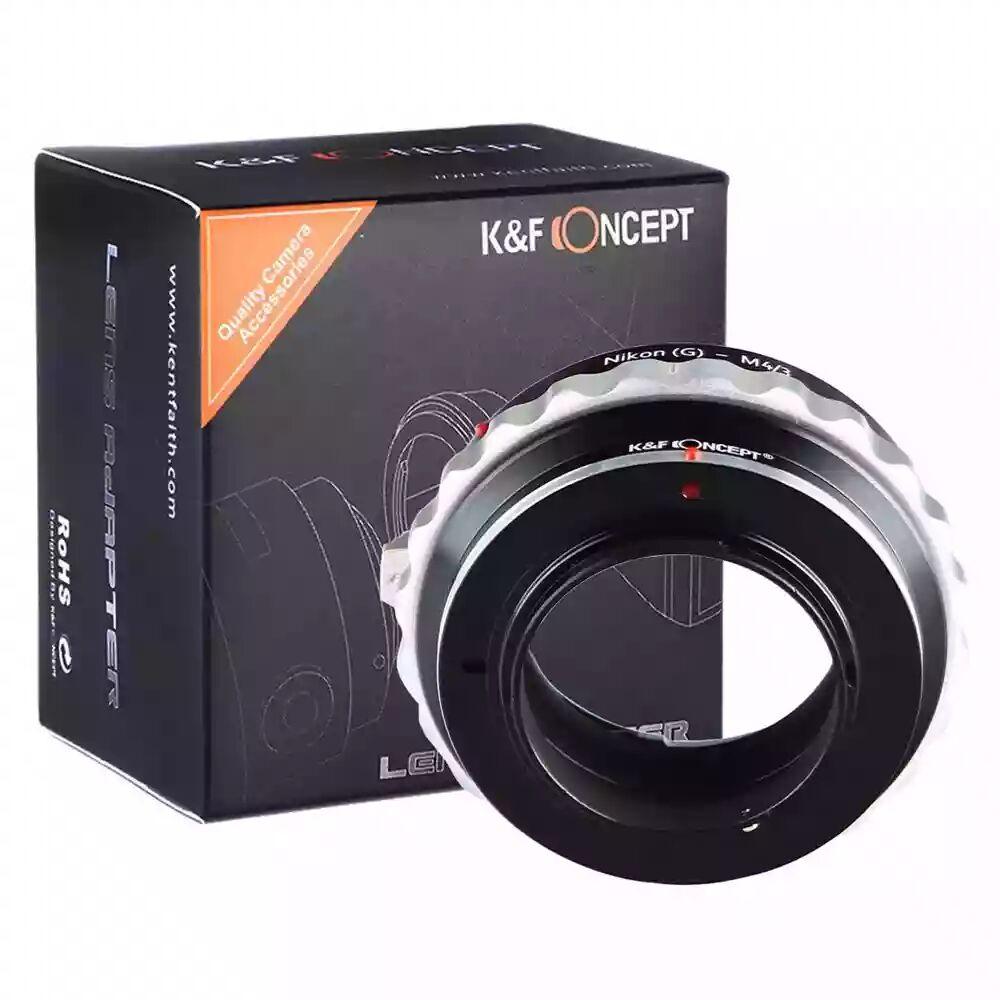 K&F Nikon G Lenses to M43 MFT Mount Camera Adapter