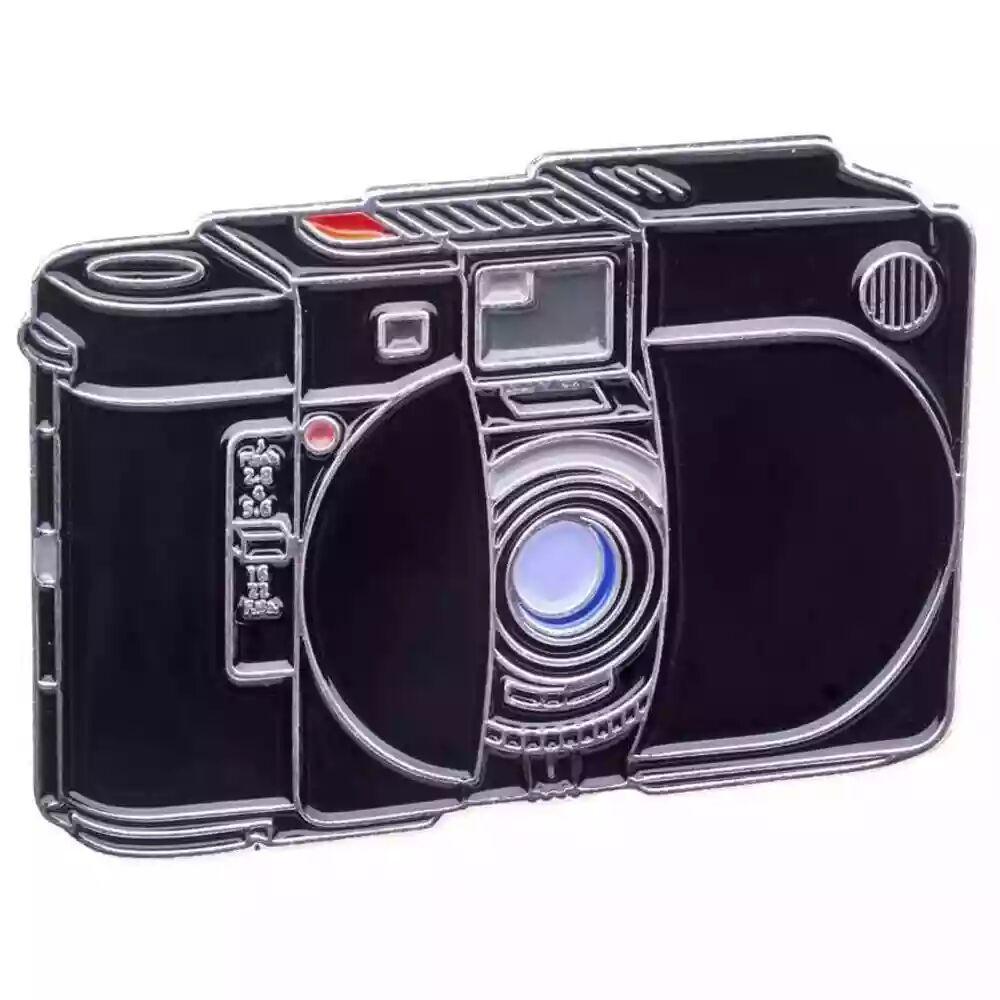 Official Exclusive Olympus XA Zuiko 35mm F2.8 Camera Pin Badge