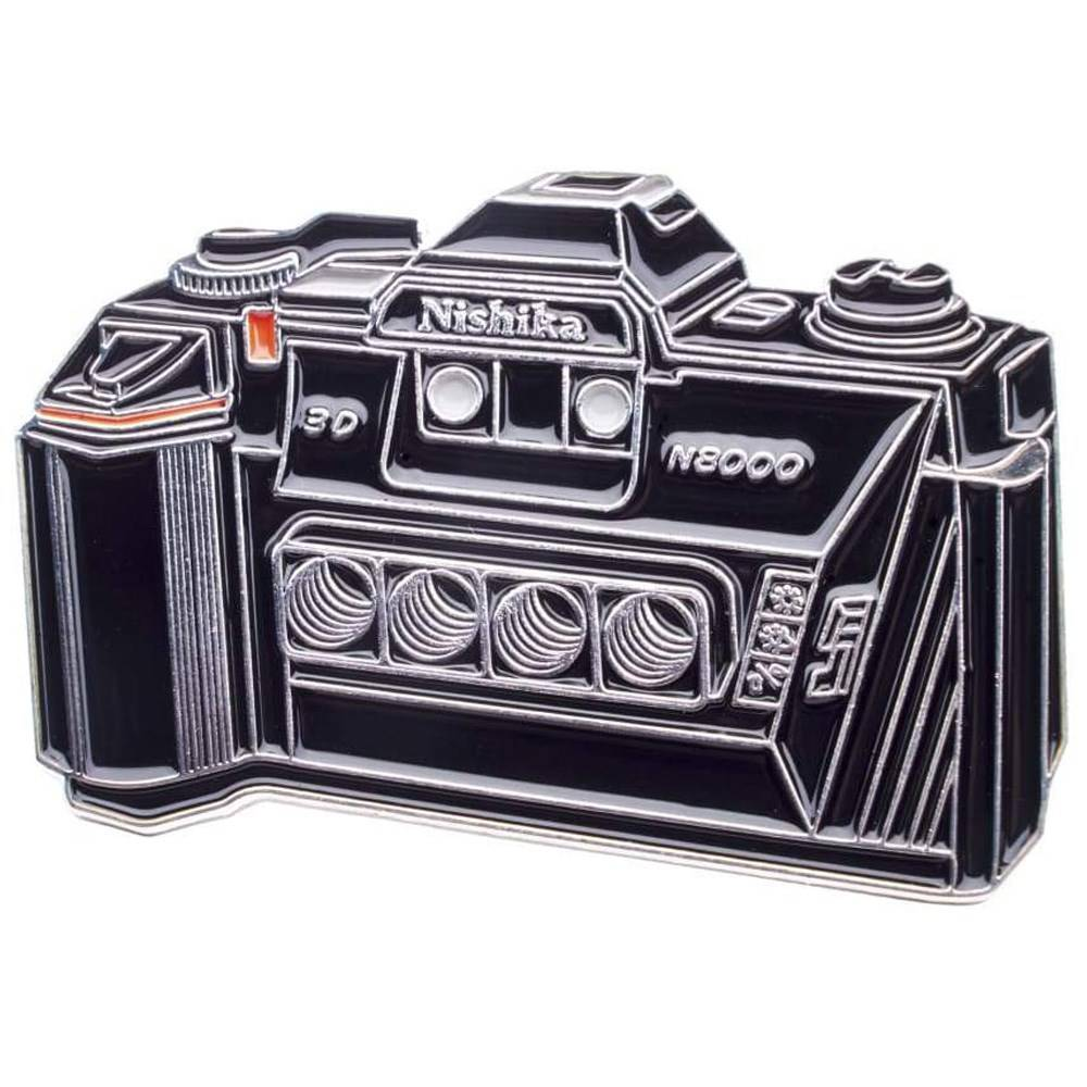 Official Exclusive Nishika N8000 3D Camera Pin Badge