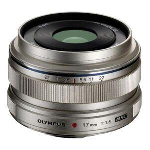 Olympus M.Zuiko Digital 17mm f/1.8 Lens Silver