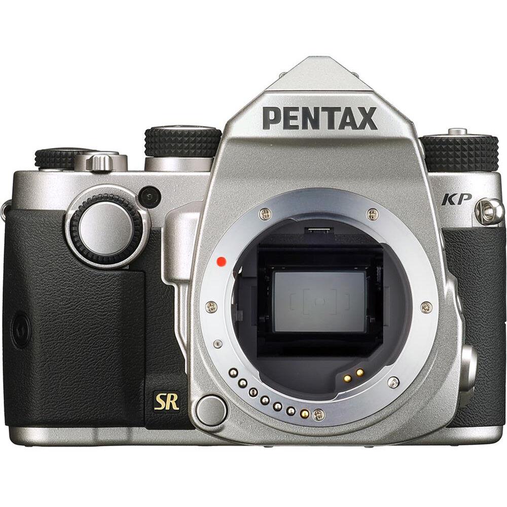 Pentax KP Digital SLR Camera Body Silver