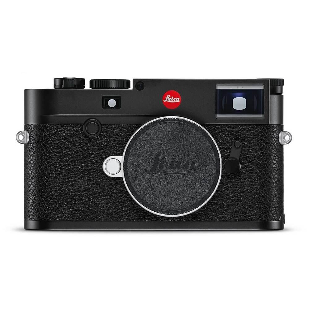 Leica M10 Digital Rangefinder Camera - Black Chrome