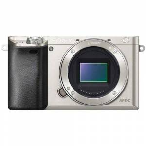 Sony a6000 Mirrorless Camera Body Silver