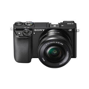 Sony a6000 With 16-50mm OSS Zoom Lens Lens Kit Black