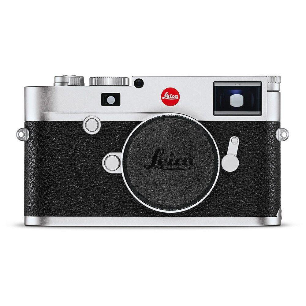Leica M10-R Digital Rangefinder Camera Silver Chrome
