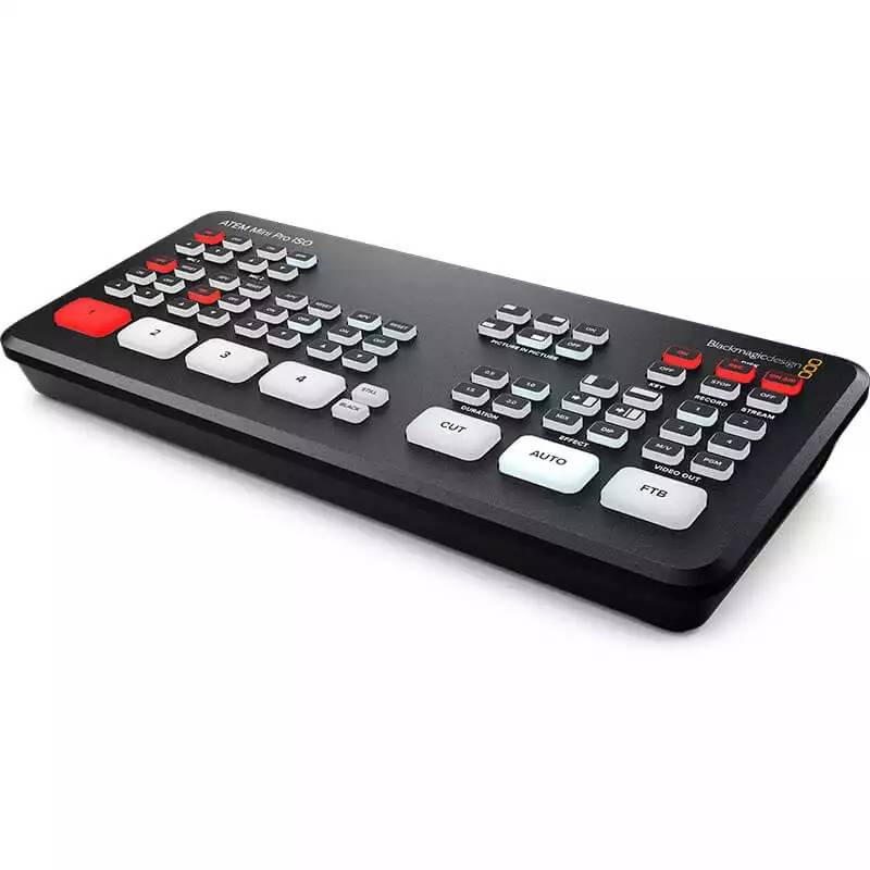Blackmagic ATEM Mini Pro ISO Live Production Switcher