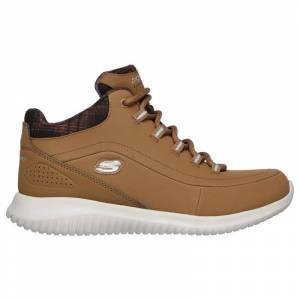 Skechers Ultra Flex Just Chill Boots  - Brown