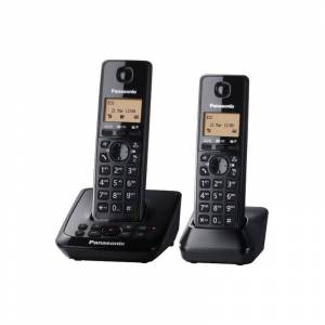 Panasonic Digital Cordless Telephone with Answer System  - Black