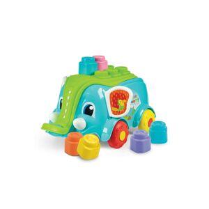 Clementoni Soft Clemmy Blocks  Elephant Playset  - Multi