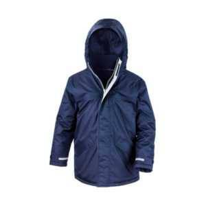 Result Back To School Parka Jacket - Navy / 11-12 years