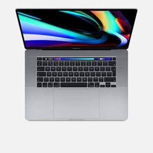 Apple MacBook Pro 16-inch Touch Bar - 2.3Ghz 8-Core (9thGEN) i9 Processor, 1TB - Space Grey