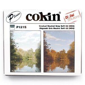 Cokin P121S Gradual Grey G2 Soft (ND8) Filter