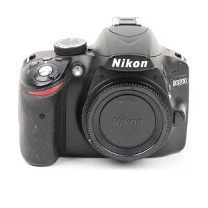 Nikon Used Nikon D3200 Digital SLR Camera Body - Black